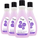 Mountain Falls Strengthening Nail Polish Remover for Natural Nails, with Vitamin E and Panthenol, Compare to Cutex, 6 Fluid Ounce (Pack of 4)