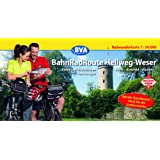 BahnRadRoute Hellweg-Weser, Spiralo Querformat, Radwanderkarte 1:50.000