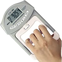 CAMRY Digital Hand Dynamometer Grip Strength Measurement Meter Auto Capturing Electronic Hand Grip Power 198 Lbs / 90…