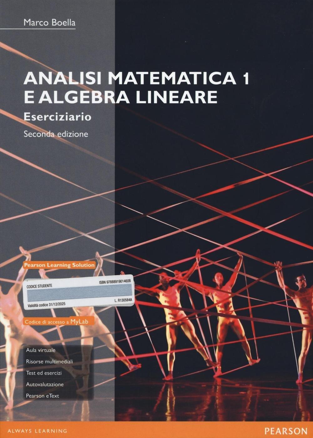 ANALISI MATEMATICA 1 E ALGEBRA LINEARE BOELLA PDF