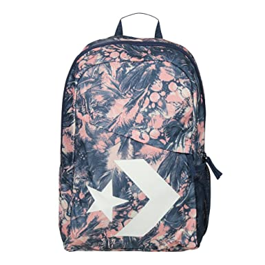 Converse Mochila Backpack para mujer Star Chevron Pale Coral Barely Orange Navy Multicolor: Amazon.es: Ropa y accesorios