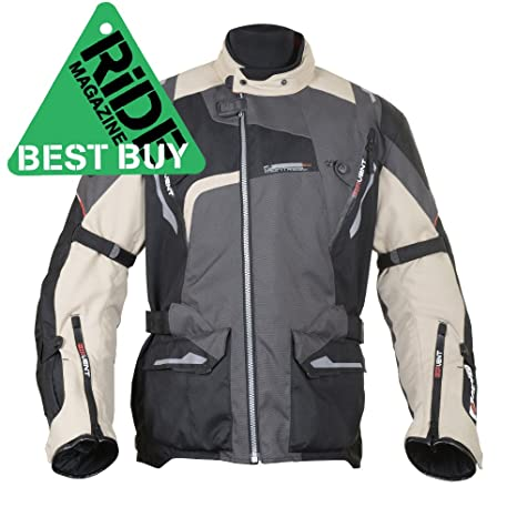 Oxford Products Chaqueta de Motorista, Desierto, 42: Amazon ...