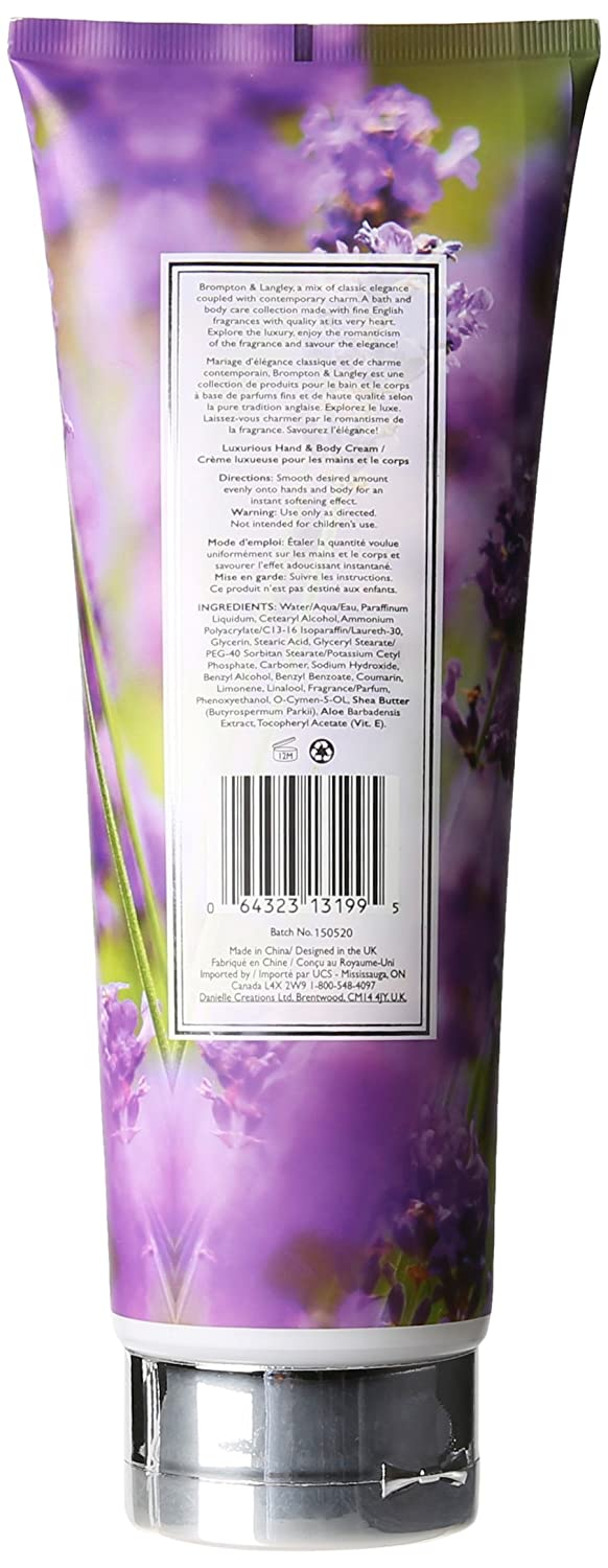 Amazon Com Brompton Langley Body Cream Orange Bergamot Beauty
