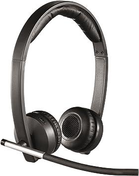 Logitech H820e Auriculares Inalámbricos, Auriculares Estéreo con ...