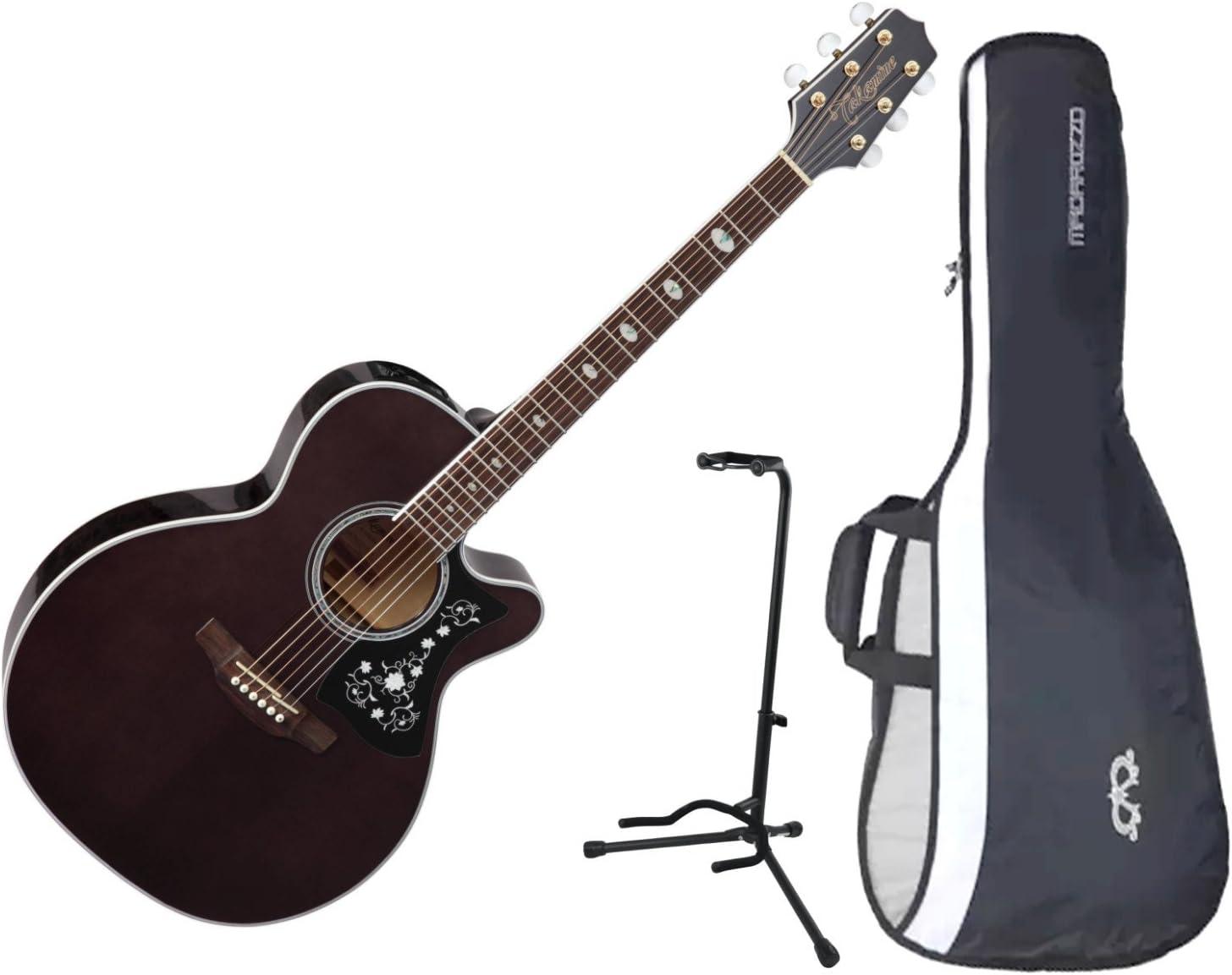 Takamine GN75CE TBK NEX - Guitarra eléctrica acústica negra con ...