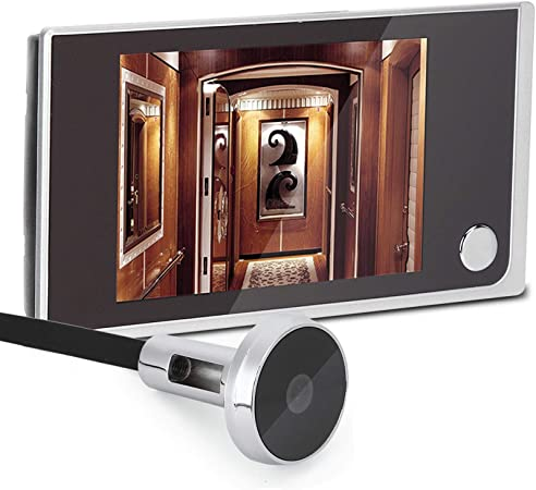 """Visor Digital de 3, 5"""" LCD de 120 Graus, Sensor de Imagem de Alta Definição Industrial OV"""