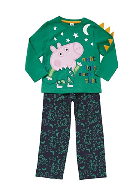 Dinosaur Peppa Pig Pyjamas 1 to 5 Years George Pig Pyjamas George Pjs W16