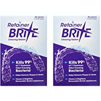 Retainer Brite Retainer brite -6 months supply- 2 boxes pack -192 tablets , 192 Count