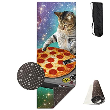 Amazon.com: Alfombrilla de entrenamiento para yoga, DJ Cat ...