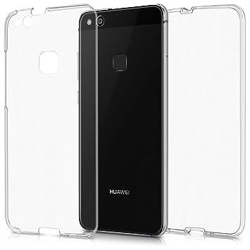 kwmobile Funda para Huawei P10 Lite Case Full Body de silicona TPU ...
