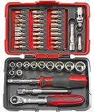 KS Tools 922.0644 Coffret de 44 pièces de douilles/accessoires ultimate 1/4''