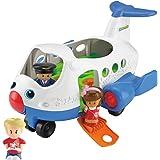BJT56 Mattel - Fisher-Price Little People avion, y compris les 2 chiffres