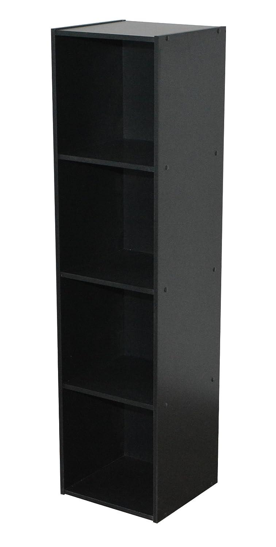 Alsapan–Scaffale, legno, nero, 31x 30x 123cm Alsapan-Scaffale DGS 6674