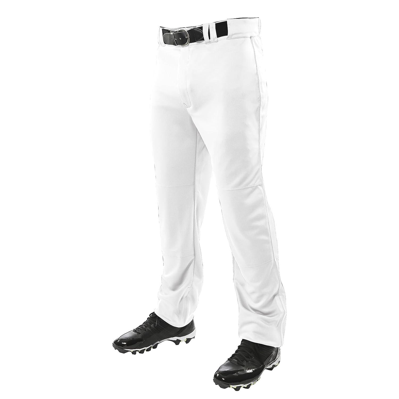 Champro Men 's Triple Crown Open Bottom野球パンツ B01GGAP520 3L ホワイト ホワイト 3L