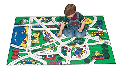 Amazoncom Toy Car Floor Play Mat Toys Games