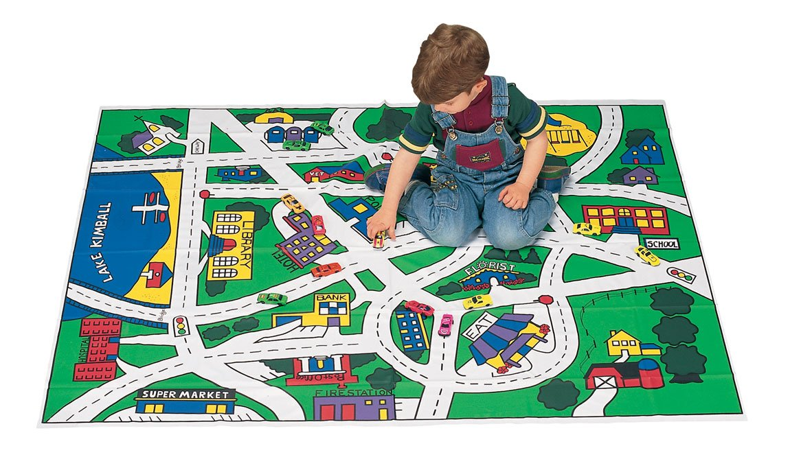 Toy Car Floor Play Mat