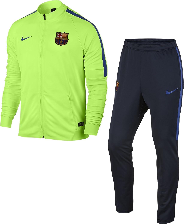 Nike 808947-368 Chándal Fútbol Club Barcelona, Hombre, Naranja ...