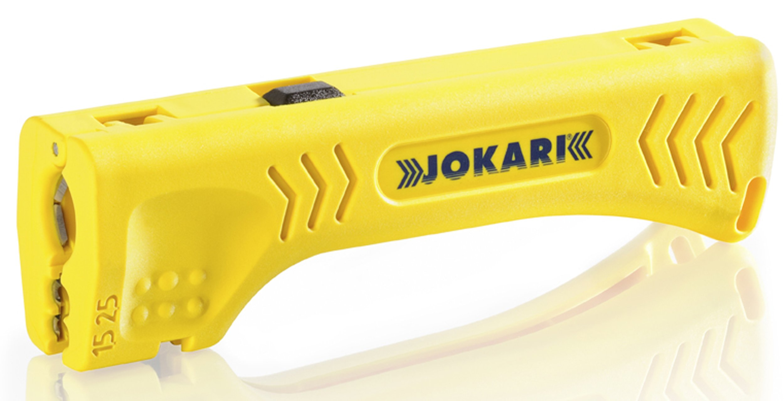 Jokari 30400 Uni-Plus Cable Strippers for Quick, Precise Cable Stripping, 13cm L x 3.8cm W x 2.5cm H