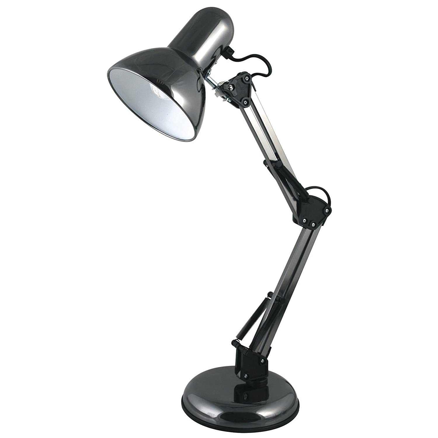 Lloytron Style Poise Hobby Desk Lamp Lbh W Black Amazon Co Uk Lighting