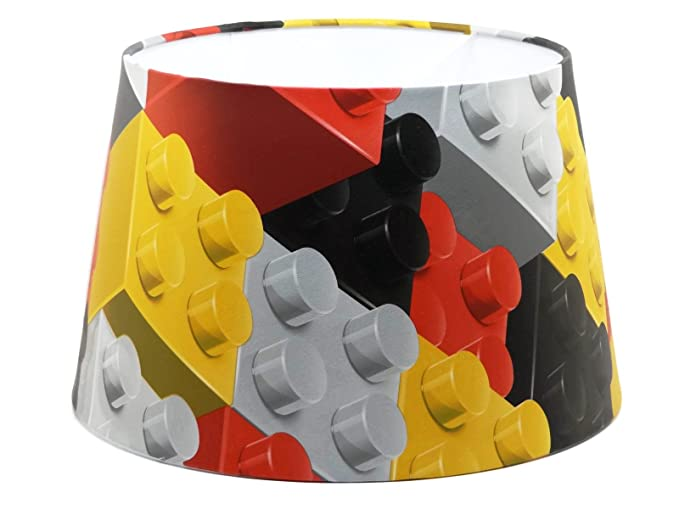 Lego lampshade or ceiling light shade large 13 dual purpose blocks lego lampshade or ceiling light shade large 13quot dual purpose blocks bricks boys bedroom accessories aloadofball Images