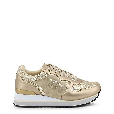U.S. Polo Sneaker FEY4228S8_YT2 Mujer Color: Amarillo Talla: 37 ...