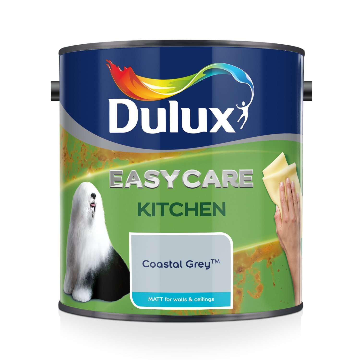 Dulux Easycare Kitchen Matt Paint - Coastal Grey 2.5L AkzoNobel 5275843