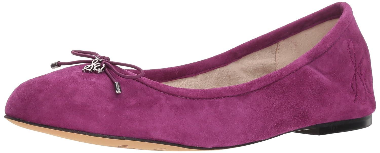 Sam Edelman Women's Felicia Ballet Flat B07BR8K1D6 7 W US|Purple Plum