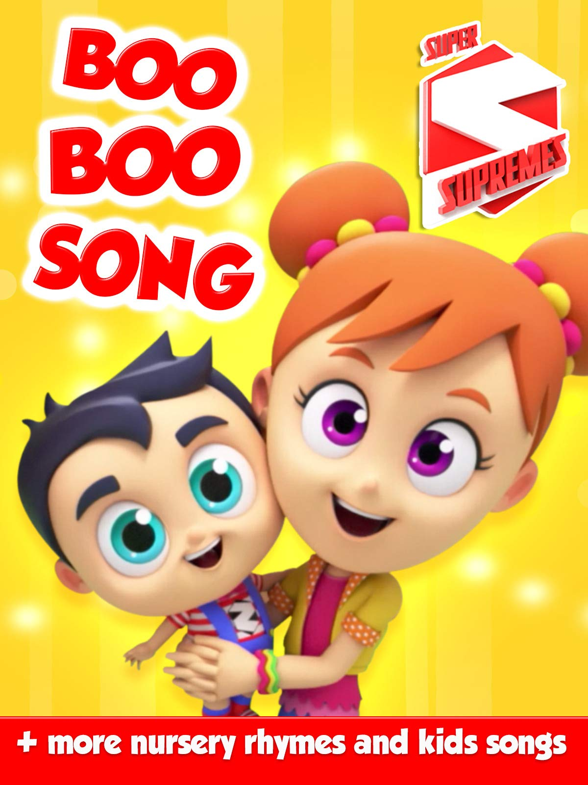 Boo Boo Song + More Nursery Rhymes and Kids Songs by Super Supremes