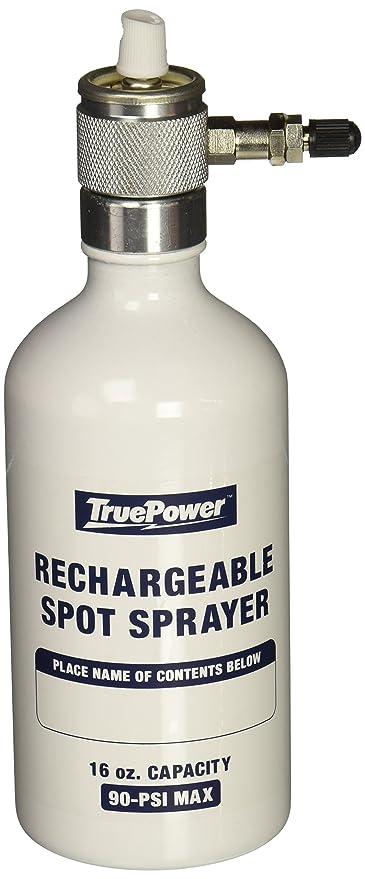 Gino Development 03-0828 Reusable Refillable Multipurpose Aerosol Spray  Bottle and Spray Tip Set, 16 oz