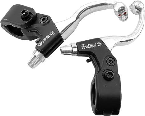 2x Manetas para Frenos Aluminio Forjado para Bicicleta Calavera ...