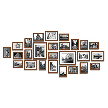 Lillyvale Large Multi Picture Photo Frames Wall Set 26 Pieces Set