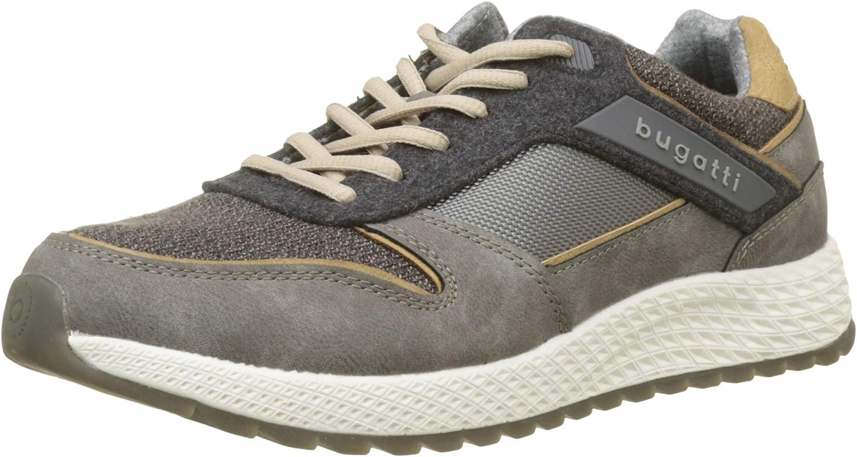 TALLA 42 EU. bugatti 321548036900, Zapatos de Cordones Derby para Hombre