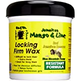 Jamaican Mango & Lime, Locking Firm Hair Wax Extra Hold With Real Beeswax & Honey, 16 Oz