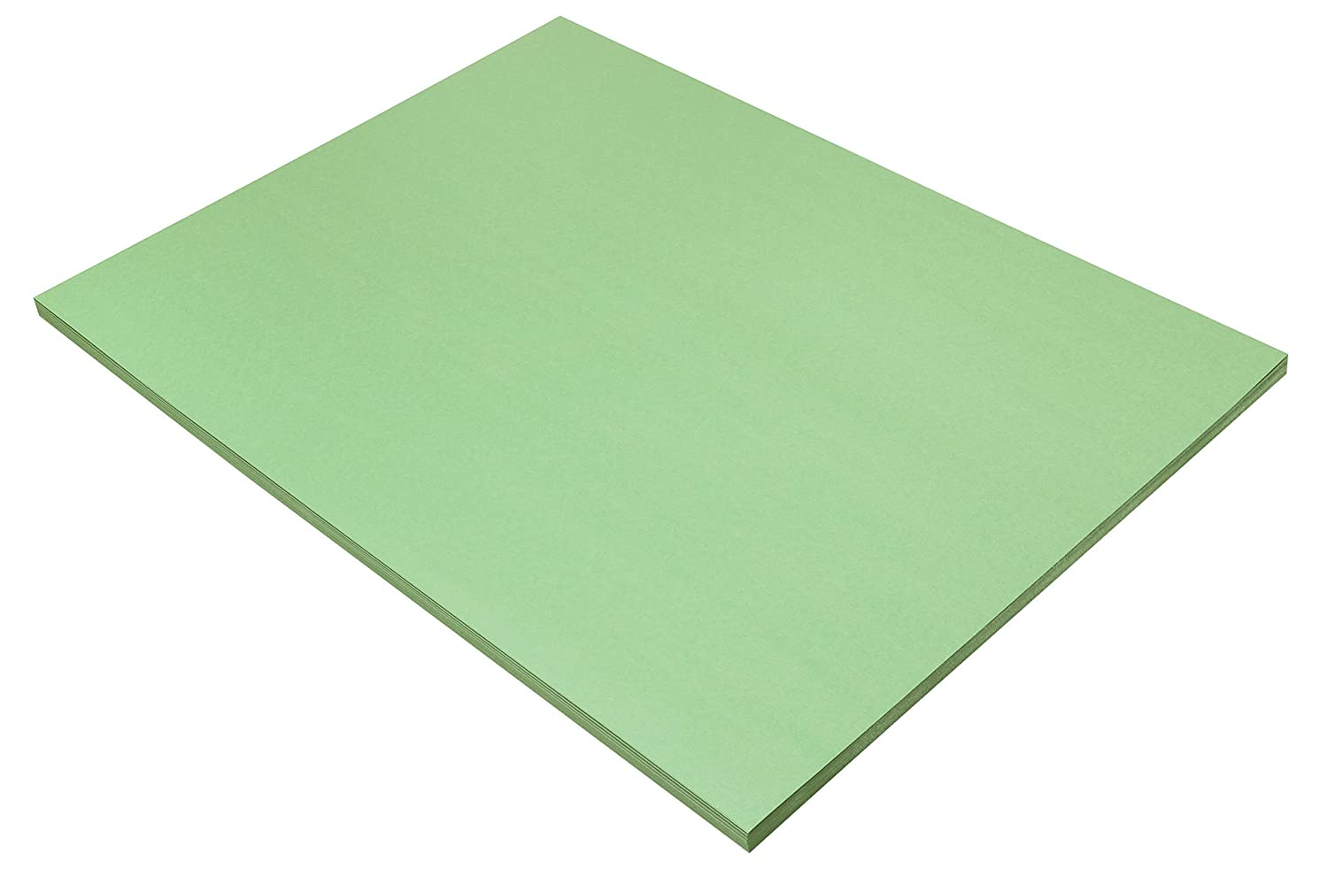 50-Count 18 x 24 Light Green 18 x 24 Pacon Corp. Pacon SunWorks Construction Paper 8117