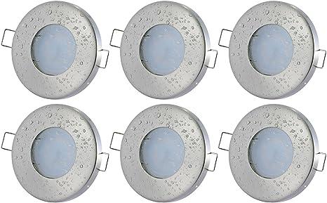 Bad Einbaustrahler IP65 AQUA SMD-LED 5Watt Badezimmer Dusche Einbauleuchte