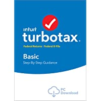 TurboTax Basic 2018 Tax Software [PC Download]