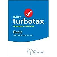 TurboTax Basic 2018 Fed Efile PC Download
