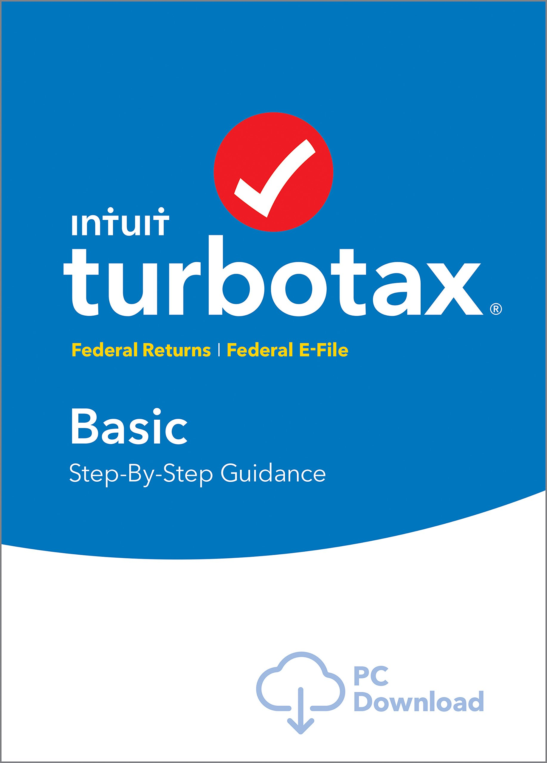 TurboTax Basic 2018 Tax Software [PC Download] by Intuit, Inc.