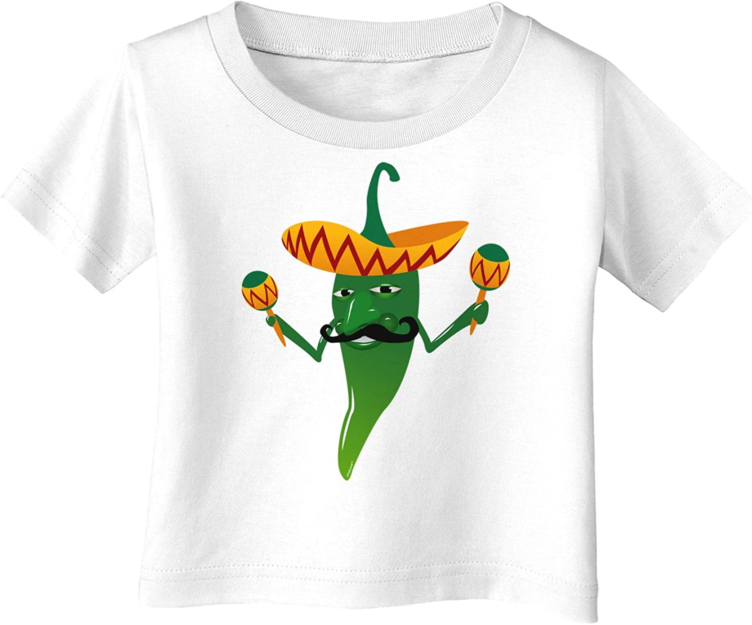 Green Hot Mexican Chili Pepper Infant T-Shirt