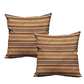 Amazon.com: HeKua - Funda de almohada estilo étnico azteca ...