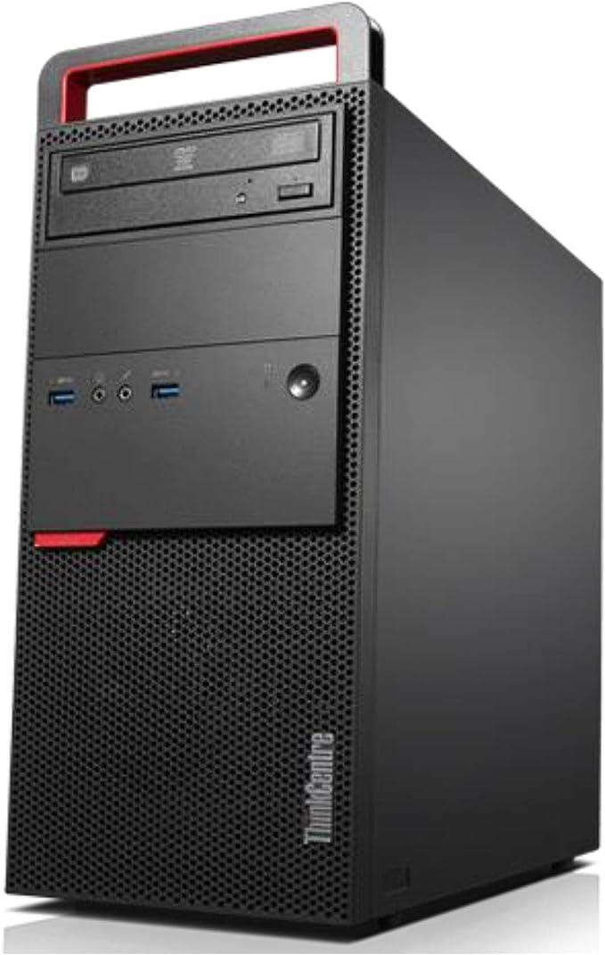 Windows 10 Professional USB 3.0 DVD Renewed RJ-45 Intel Dual Core i5-3470 3.2GHz Lenovo ThinkCentre M82 High Performance Business Tower Desktop WiFi 16GB RAM VGA 2TB HDD