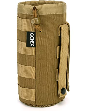 00b6010b1f36 Gonex Upgraded Tactical Military MOLLE Water Bottle Pouch