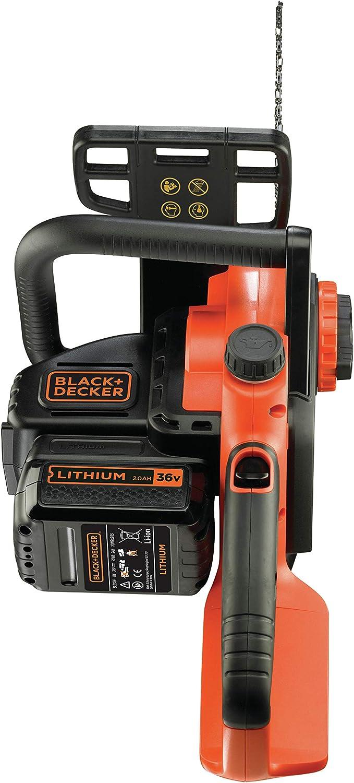 BLACK+DECKER GKC3630L20-QW Motosierra a batería 36V, 2.0Ah Litio ...