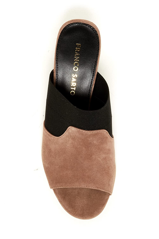 4bca77c1e5ce9 Franco Sarto Women's Gazelle Heeled Sandal Mushroom/Black