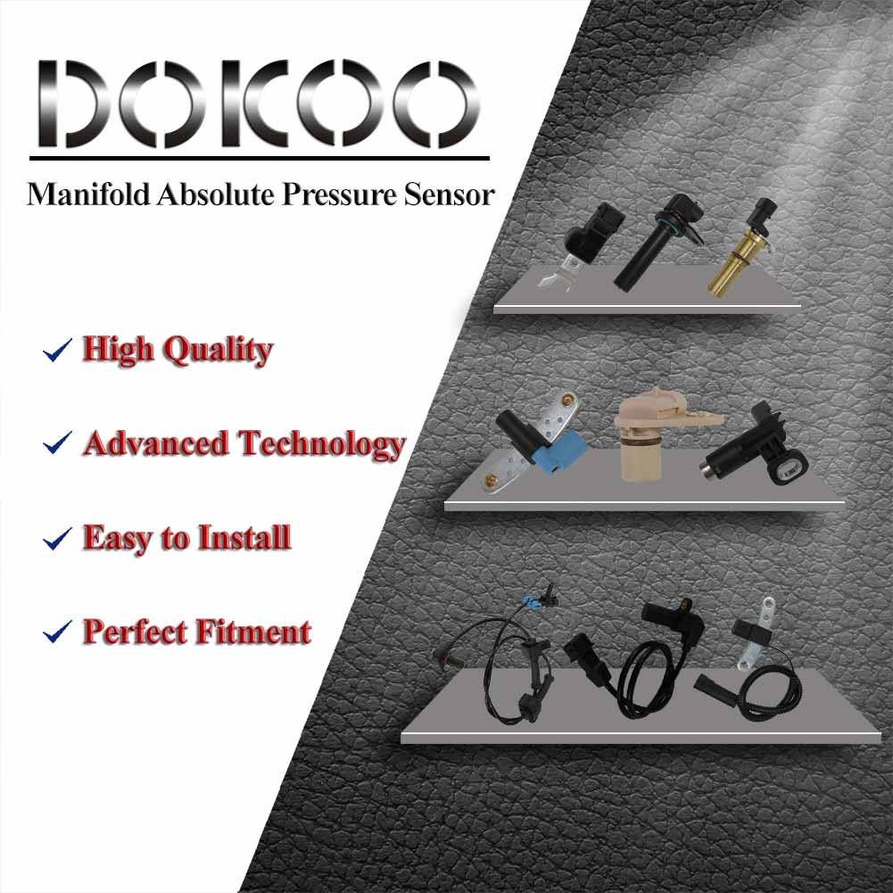 Manifold Absolute Pressure Sensor Map For Standardr Chevy Cavalier 1987 Engine Coolant Temperature Switch Chevrolet Impala Malibu 97 03 Buick Century 85 04 Isuzu Rodeo 96 Oldsmobile Alero