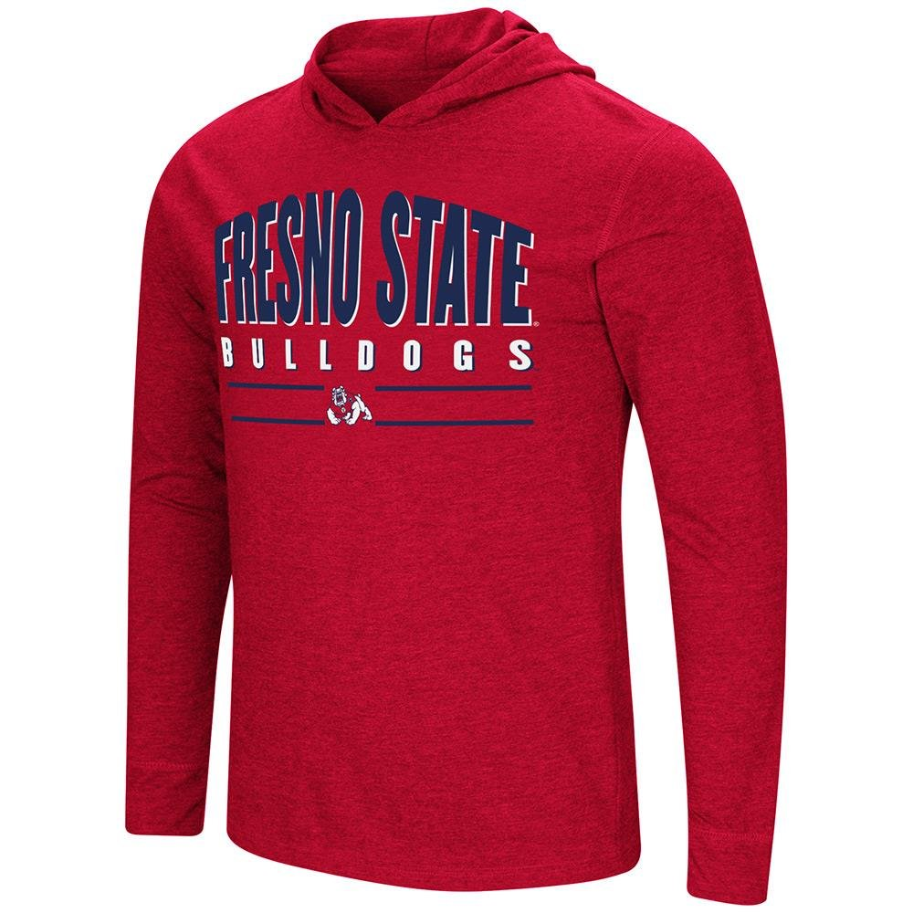 ColosseumメンズFresno State Bulldogs長袖Tシャツシャツ付き B07GFXBD2V   X-Large with Name Embroidered