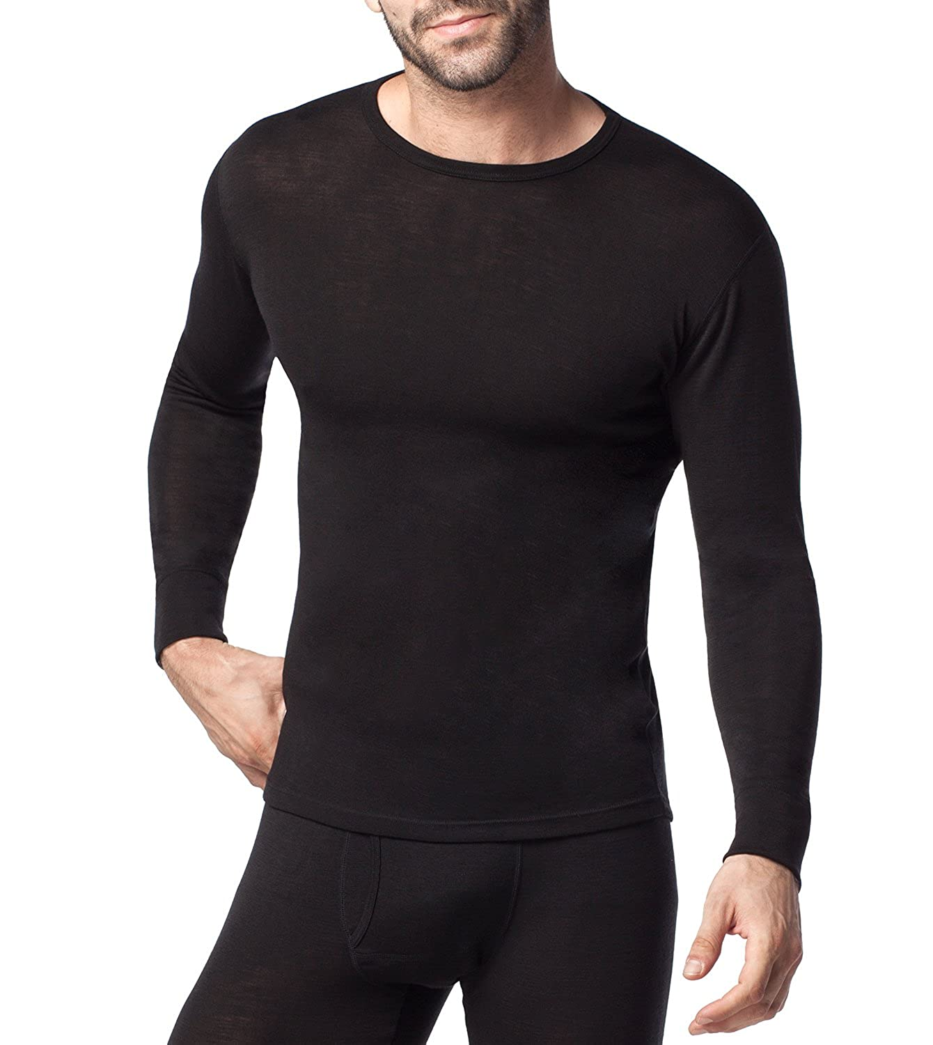 Mens Thermal Wool Top