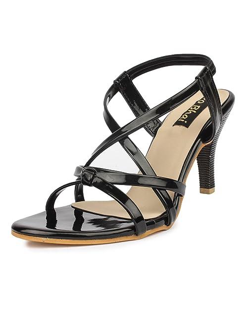7289a3722ab Do Bhai Sandal-05 Fashionable   Stylish Heels for Women  Buy Online ...