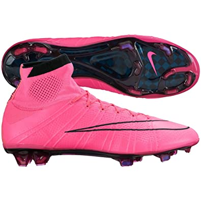 new products a796b fe49a Amazon.com   Nike Mens Mercurial Superfly FG Firm Ground Soccer Cleats 13  US, Pink Black   Soccer