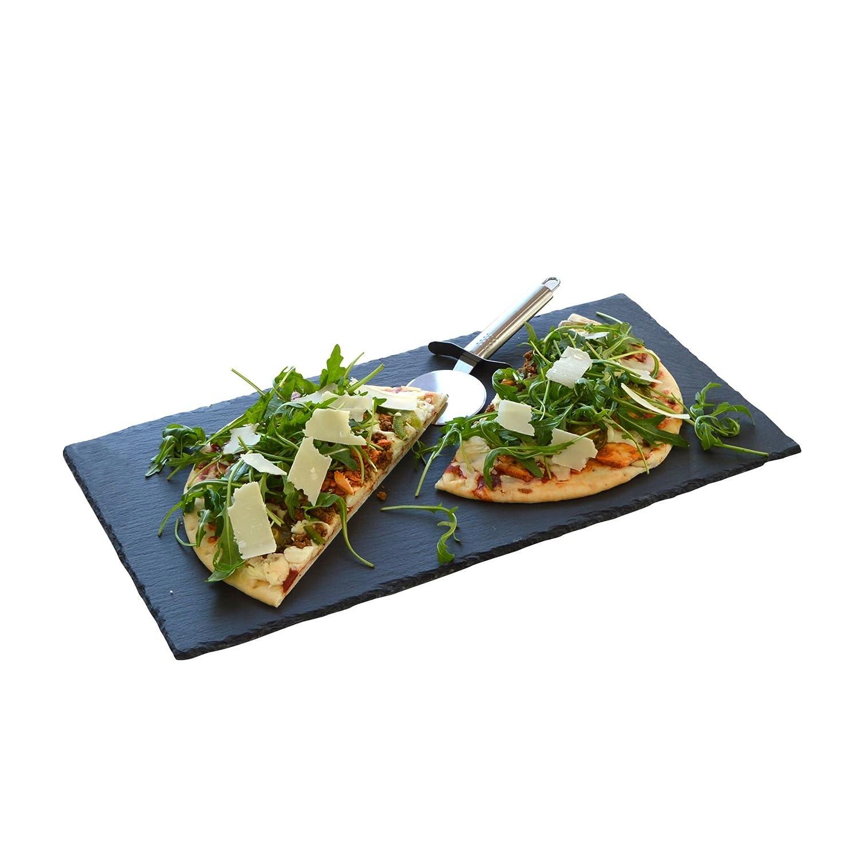 Argon Tableware Large Handcut Natural Slate Food Serving Party Platter